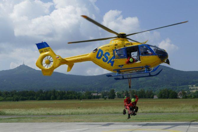 Den otevřených dveří na letecké záchrance – 26.9. 2018 od 13:00 do 18:00 hodin