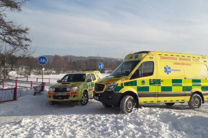 Záchranáři mají nové moderní sanitky a lékařské vozy