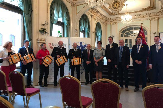 Zdravotnická záchranná služba Libereckého kraje spouští II. etapu projektu AED