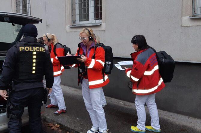 Cvičili jsme evakuaci dispečinku. Úspěšně!