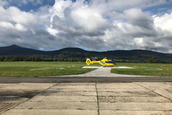 Nový heliport ZZS LK v Liberci