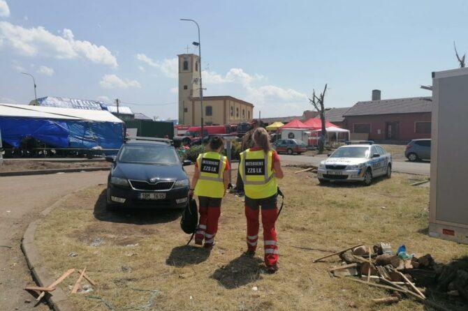 Interventi ZZS LK pomáhali na jižní Moravě